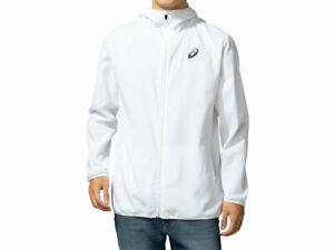 Tokyo 2020 Olympic Emblems ASICS Packable Wind Jacket White XL size