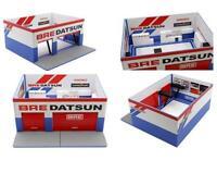 Greenlight 1:64 BRE DATSUN Mechanic's Corner Weekend Workshop Model 51162