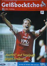 Programm 2002/03 1. FC Köln - SC Freiburg