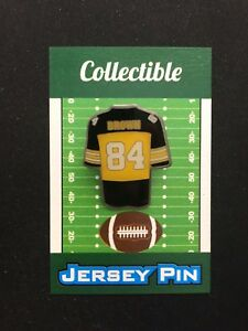 Pittsburgh Steelers Antonio Brown jersey lapel pin-Collectible