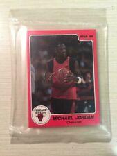 1986 Star Co. Michael Jordan 10 card set in original sealed bag
