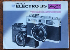 Yashica Electro 35 FC  - Anleitung