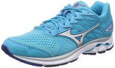 Mizuno Lady's Running shoes Wave Rider 20 J1Gd1703 Sky-blue X silver