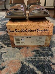 sun san saltwater sandals Tan Size 10