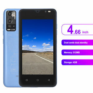 Unlocked Mobile Phone Smartphone 4GB 512MB 3G Dual Sim 2MP HD Camera For Android