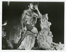 MIKE HENRY AS TARZAN DOING TARZAN YELL ORIGINAL 1966 CBS TV PHOTO