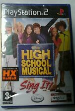 GIOCO PS2 HIGH SCHOOL MUSICAL SING IT  PS 2