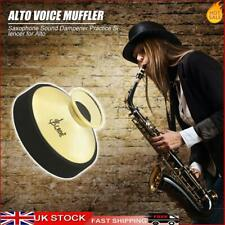 More details for abs mute silencer for alto saxophone sax dampener instrument accessories