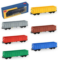1pc/3pcs HO Scale Open Gondola Car 1:87 Rolling Stock Railway Wagons