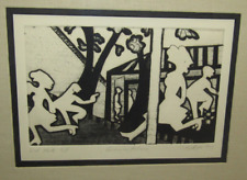 CAMILLE BILLOPS SIGNED Etching Artist's Proof A.P. Framed Kerry James Marshall