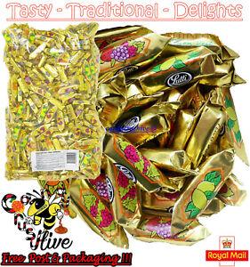 1 - 1000 Fruit Bon Bons Lutti Fruitinettes Individually Wrapped Retro Sweets