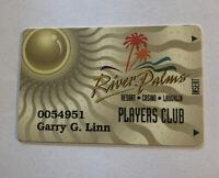 River Palms Players Club Card Rivers Palms Resort Casino Laughlin Nevada