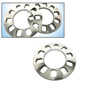 2X 5 Holes 12mm Aluminum Alloy ET Shims Wheel Spacers Wheelbase Gasket Excellent
