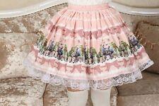 Cosplay Sweet Love Lolita Cute Princess Alice Tea Party Kawaii Skirt with lace