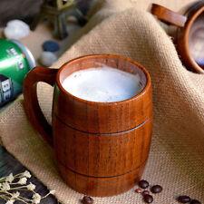 1 STÜCK Holz Holz Milch Bierkrug Souvenir Tee Bier Tasse Fass Tassen Trinken