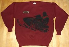 vintage unworn ARCTIC CAT sweater snowmobile ugly Christmas sweater  size medium