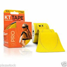 KT Tape Pro Kinesiology Elastic Sports Tape - Support - Solar Yellow