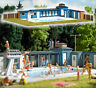 1433 Busch HO Kit of a Open-Air Swimming Pool - NEW