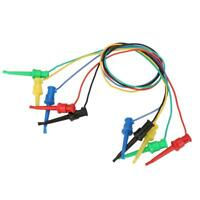 5Pcs/set Colorful Multimeter Electrical Test Dual SMD IC Lead Test Clip Hook LJ