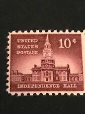 Scott# 1044  10c Independence Hall ~ mnhog - (B-2)