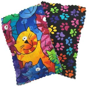 Catnip Pillows -- Two Pack Crazy Cat, New, Free Shipping -- Made in the USA