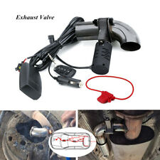 """2.5""""Electric Exhaust Valve Control Downpipe CutOut Catback w/Wireless Remote Kit"""