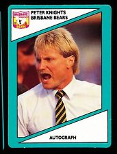 1988 Scanlens Stimorol Brisbane Bears Peter Knights MINT Football Card No 122 r