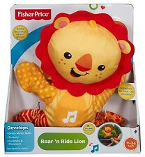 Fisher Price Toy - Roar 'n Ride Lion - Baby Electronic Music and Dancing - Car