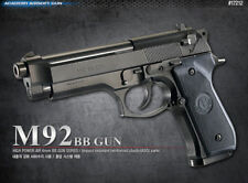 Academy Korea Beretta M92 Full Size Airsoft Pistol BB Replica Hand Toy Gun 6mm