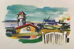 Alfred Gockel Abstract Art Print 19.75x 27.5 inch