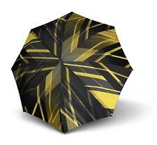 Knirps T.703 Stick Automatic Schirm Stockschirm Schwarz Gelb Edinburgh Yellow