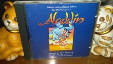 "CD OST COLONNA SONORA FILM CARTONI ""ALADDIN"" 1993 WALT DISNEY WDR 475632-2 ITALI"