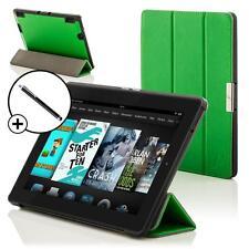 Pelle Verde Pieghevole custodia Cover per Amazon Fire HD 7 2014 Generazione