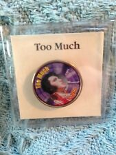 """NOS ELVIS PRESLEY MYSTIC STAMP COLORIZED QUARTER TOP 40 HITS """"TOO MUCH"""""""