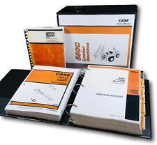 Case 580c Loader Backhoe Operators Service Parts Manual Repair Shop Tractor Ck