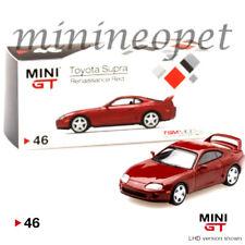 TSM MINI GT MGT00046 TOYOTA SUPRA JZA80 1/64 DIECAST MODEL CAR RED