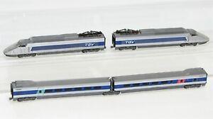 "Arnold N TGV 4-teilig blau/silber der SNCF ""für Bastler"" FT623"