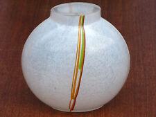 Vase KOSTA BODA Design BERTIL VALLIEN Signiert ! Rainbow Serie Glas aus Schweden