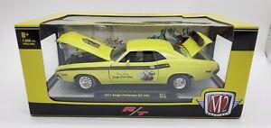 m2 machines 1971 Dodge Challenger R/T 440 Scat Pack 1:24