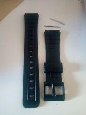 2 UND Repuesto Correas Reloj Casio F-91 Plastico 18mm Correa Negro + pasadores
