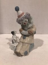 Lladro #5279 Pierrot with Concertina Retired