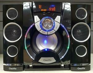 OSOTTO HF52 2.1 CHANNEL 116W BLUETOOTH MULTIMEDIA SOUND SYSTEM - SEALED