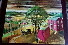Vintage Whitman 713 Pc. CROWN PICTURE JIGSAW PUZZLE Pennsylvania Dutch COMPLETE!