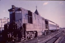 CNJ-Jersey Central GP7-#1528 Scoot @ Bayonne-W 8th. 1973.Kodak duplicate slide