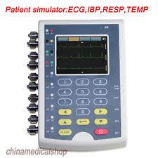 Contec Touch Screen Patient Simulate multi-parameter Simulator,ECG,IBP,Resp,Temp
