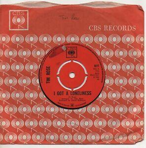 TIM ROSE i got a loneliness*long time man 1967 UK CBS NORTHERN SOUL 45