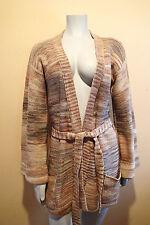 BARBARA LEE sweater BELTED cardigan WRAP,JACKET,WOOL,-O