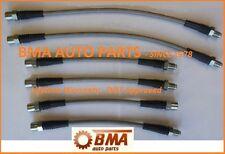 DOT APPROVED BMW E30 Stainless Steel Brake Line Kit 1 - 6 Piece Kit