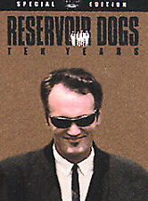Reservoir Dogs (Dvd, 2002, Mr. Brown/Quentin Tarantino Limited Edition)
