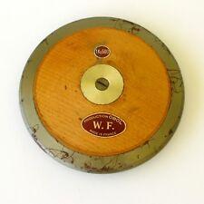 Très ancien disque à lancer d'athlétisme en Bois -Production OBOL - France -Rare